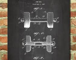 home gym decor fitness art weight lifting art weightlifting