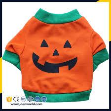 sale halloween pet soft orange color pumpkin pet winter dog