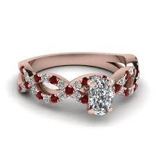 Diamond Cushion Cut Ring Customize Cushion Cut Engagement Rings Fascinating Diamonds