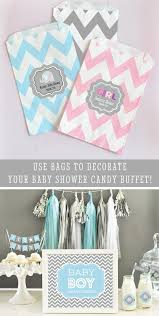 Baby Shower Candy Buffet Pictures by Items Similar To Baby Shower Candy Buffet Bags Baby Shower Goodie