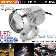 Led Lights For Motorcycle Motorcycle Driving Lights Ebay