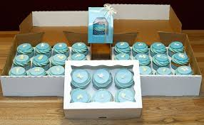baby boy shower cupcakes boy baby shower cupcakes with blue buttercream swirls handmade