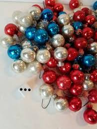 vintage mini glass christmas ornaments mini christmas balls mini