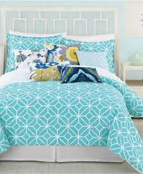 Blue And White Comforter Bed Linen Interesting Navy Blue And Turquoise Bedding Coral And