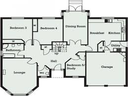 floor plans homes 5 bedroom bungalow floor plans homes stunning for a house theworkbench