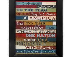American Home Decor America Decor Etsy