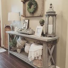 diy entryway table plans diy simple sofa table tired of looking at console tables and not