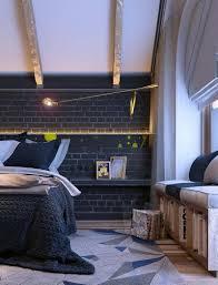 mur noir cuisine chambre mur noir photos de design d intérieur et décoration de