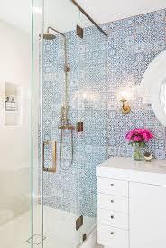 patterned tile bathroom bathroom style trend tile statement wallbecki owens