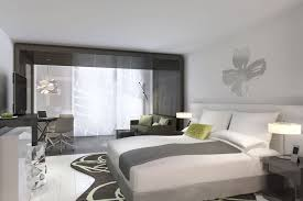 Possini Euro Design Chandelier Contemporary Guest Bedroom With Mural By Jared Epps Zillow Digs