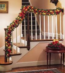stair rail garland 17 best garland images on