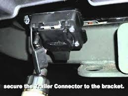 installing trailer wiring kit on range rover hse 2010 on youtube