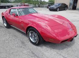 75 corvette value 1975 chevrolet corvette for sale carsforsale com