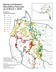 Oregon Vortex Map by Usda Record Low Snowpack In Cascades Sierra Nevada Watts Up