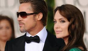 brad pitt and reportedly celebrate thanksgiving