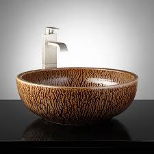 bathroom bathroom fixtures bathroom vanity with glass bowl sink