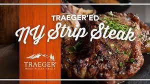 easy strip steak recipe by traeger grills youtube