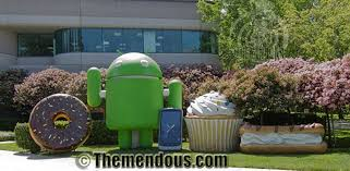 android statues name the android n for