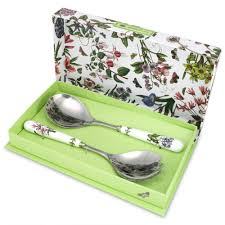 decor u0026 tips salad server set from portmeirion botanic garden and