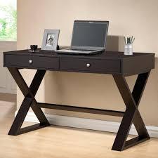 dark brown computer desk baxton studio ottwell contemporary dark brown finished wood desk