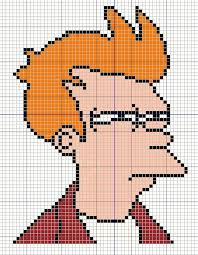 Fry Not Sure Meme - buzy bobbins not sure if fry meme cross stitch design geeky