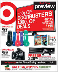 target u0027s simple yet effective black friday catalog focuses on price