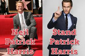 Neil Patrick Harris Meme - image 287033 name puns know your meme