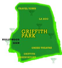 griffith park map travel explore usa los angeles california griffith park