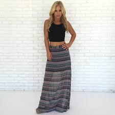 maxi skirt challis print maxi skirt dainty hooligan boutique