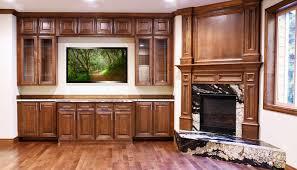 chocolate maple glazed cabinets kitchen remodeling fairfax va