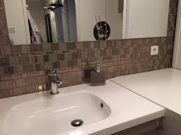 Backsplash Stick On Tiles by Blog Peel And Stick Smart Tiles On A Budget Smart Tiles