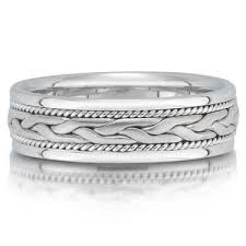 braided band braided wedding band x4301 6gw available in platinum palladium