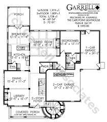 cape point lighthouse plan house plans by garrell associates inc