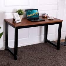 Teak Computer Desk Home Teak Computer Desk Pc Laptop Office Table Workstation Study W