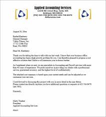 accounting payroll services proposal cover letters template