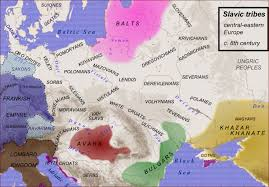 East Europe Map by Polish Genealogical Society Of California Maps