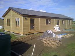 considering a mobile home or a log cabin kit ideal luxury living