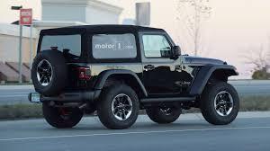2018 jeep wrangler spy shots spy spots released of new re designed 2018 jeep wrangler on street