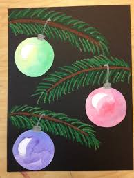 beautiful baubles for fifth grade pine pastels and ornament
