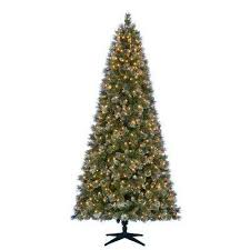 stylish ideas 9 ft pre lit tree clearance foot