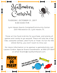2017 halloween carnival lynn haven florida