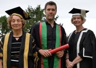 Rhod Gilbert Duvet Comedian Rhod Gilbert Honoured As Fellow Aberystwyth University