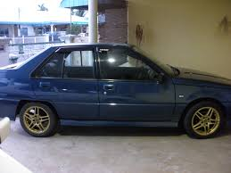 proton iswara for sale year 2005 dark blue vehicle