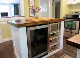 How To Install Kitchen Island Cabinets by Kitchen Island With Cutting Board Top Home Decoration Ideas