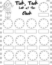 math worksheets on time homeschool telling nd grade the from