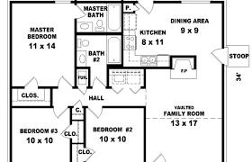 houses blueprints modern house plans simple blueprint split bedroom six large 2 with