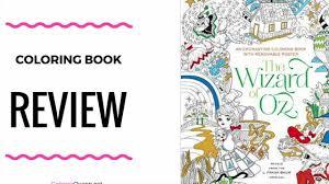 enchanting coloring book wizard oz coloring book fabiana