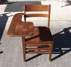 vintage wood desk triple a resale vintage solid wood student desk
