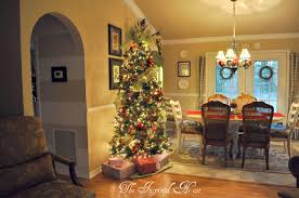 ribbon on christmas tree decorating ideas home interior ekterior