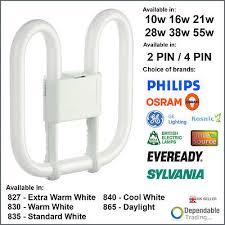 ge lighting biax 2d f552d 835 1 x ge 2d 55w light bulb 3500k gry10q 3 l code 78340 white 3900